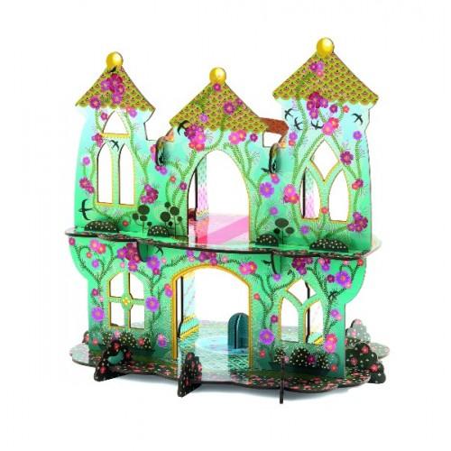 Castillo de las princesas 3D para armar disponible en: www.happyeureka.com