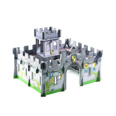 Castillo medieval 3D para armar