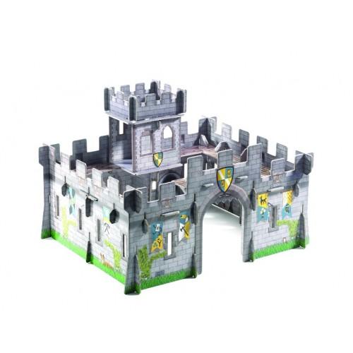 Castillo medieval 3D para armar disponible en: www.happyeureka.com