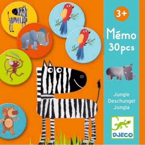Juego educativo de memoria - La jungla disponible en: www.happyeureka.com