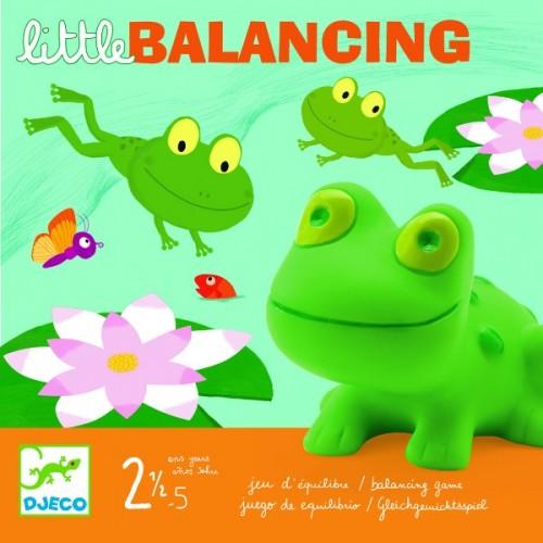 Juego de equilibrio - Las ranas del estanque disponible en: www.happyeureka.com