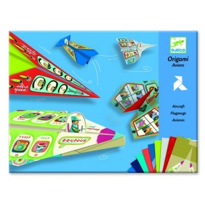 Juego de origami - Aviones