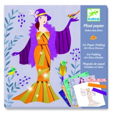 Juego para decorar - Vestidos de papel