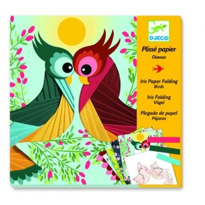 Juego para decorar - Aves de papel