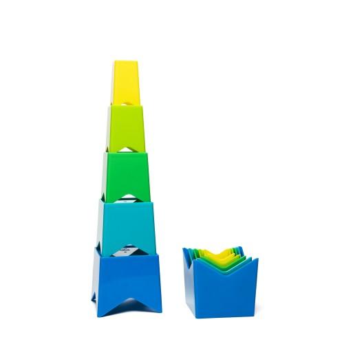 Cubos para apilar y ordenar disponible en: www.happyeureka.com
