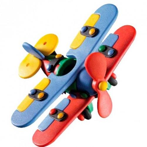 Biplano pequeño disponible en: www.happyeureka.com