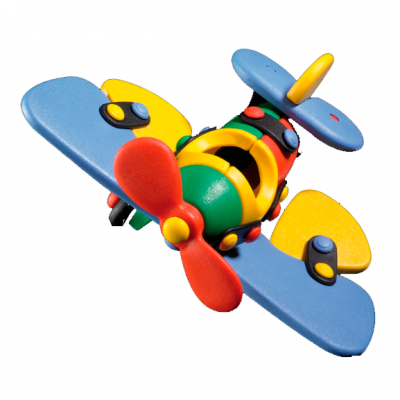 Avión mariposa pequeño