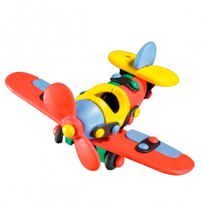 Avión de libélula pequeño