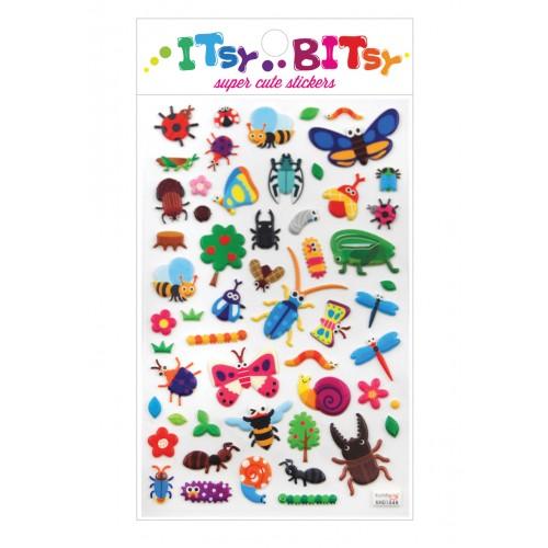 Stickers - La vida de insectos disponible en: www.happyeureka.com