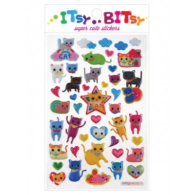 Cats eyes - stickers infantiles
