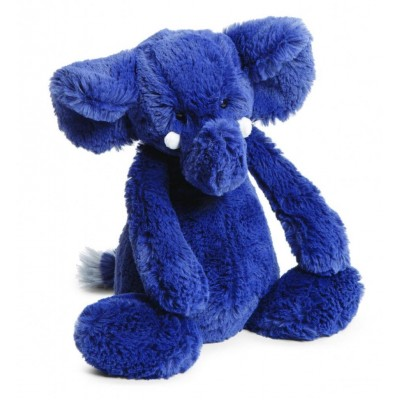 Elefante azul mediano