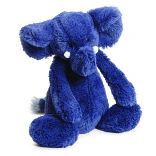 Elefante azul mediano disponible en: www.happyeureka.com