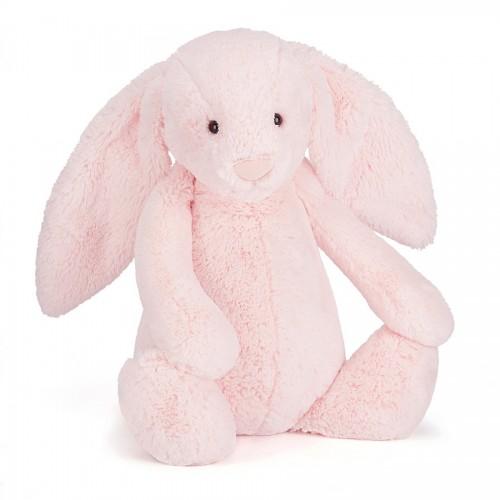 Conejito rosado sonajero mediano disponible en: www.happyeureka.com