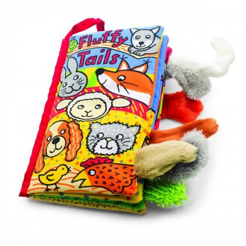 Libro de tela - Colitas esponjosas disponible en: www.happyeureka.com