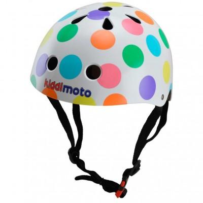 Helmet pastel dotty small