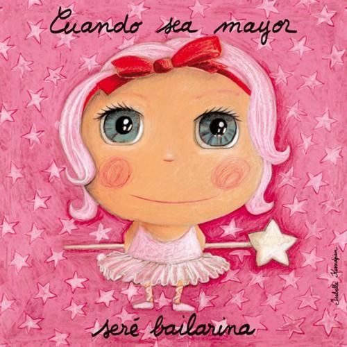 Lienzo bailarina disponible en: www.happyeureka.com
