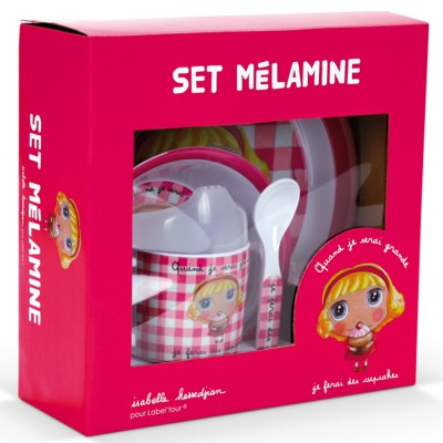 Set melamine cup cake