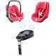 Silla de carro para bebé - Pebble rosa origami disponible en: www.happyeureka.com