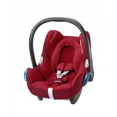 Silla de carro para bebé - Cabriofix rojo robin