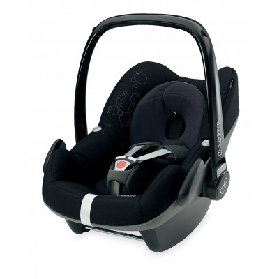 Silla de carro para bebé - Pebble negro total