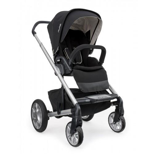 Coche para bebes Nuna negro disponible en: www.happyeureka.com