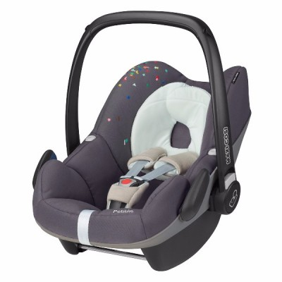 Silla de carro para bebé - Pebble gris confetti
