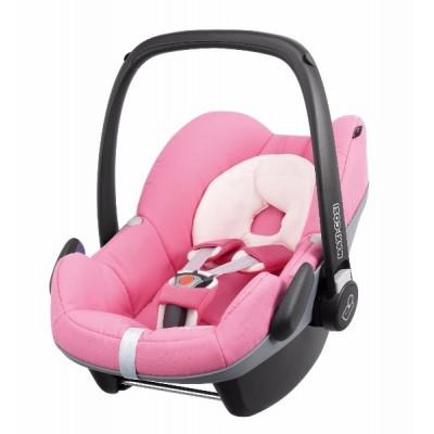 Silla de carro para bebé - Pebble rosado