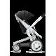 Coche de bebé - Moodd negro y blanco disponible en: www.happyeureka.com