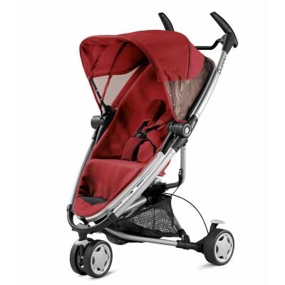 Coche de bebé - Zapp Xtra 2 rojo con canasta negra