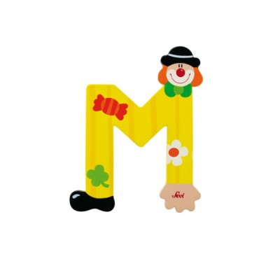 Letra decorativa - M