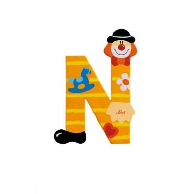 Letra decorativa - N