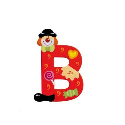 Letra decorativa - B