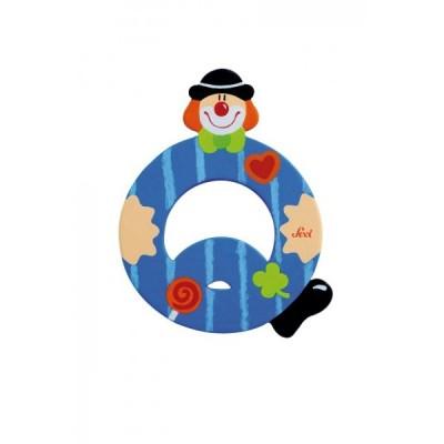 Letra decorativa - Q