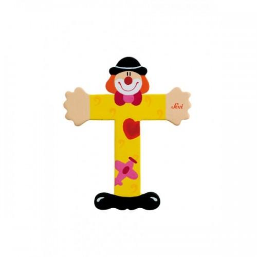Letra decorativa - T disponible en: www.happyeureka.com