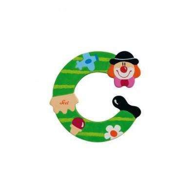 Letra decorativa - C