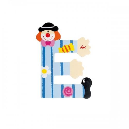 Letra decorativa - E disponible en: www.happyeureka.com