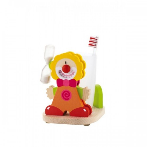 Kit cepillo de dientes - El payaso Tim disponible en: www.happyeureka.com