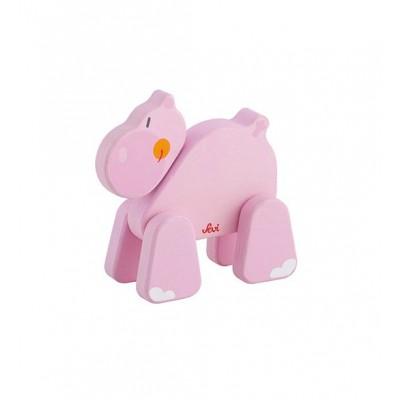 Rompecabezas 3D - Hipopotamo