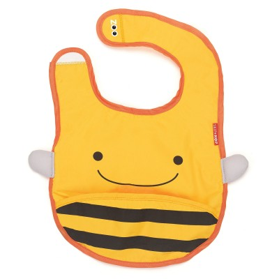 Zoo bib bee - babero