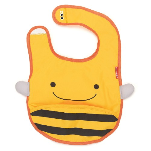 Zoo bib bee - babero disponible en: www.happyeureka.com
