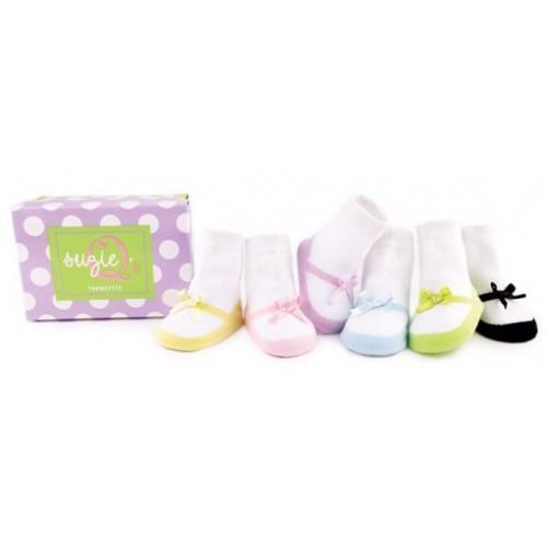 Suzie q - medias para niñas - medias para bebés disponible en: www.happyeureka.com