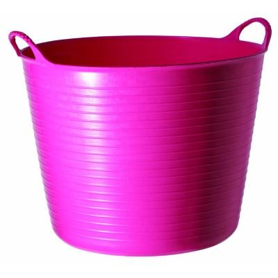 Contenedor mediano rosado