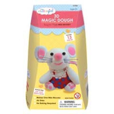 Plastilina mágica 3D - Señorita ratona