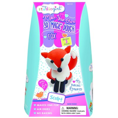 Magic dough fox