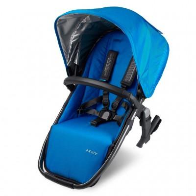 Silla auxiliar para coche de bebe azul