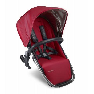 Silla auxiliar para coche de bebe roja