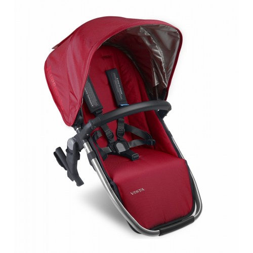Coche de bebé - uppababy vista rumble seat 2015 denny red disponible en: www.happyeureka.com