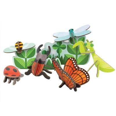 Rompecabezas 3D - La vida de insectos