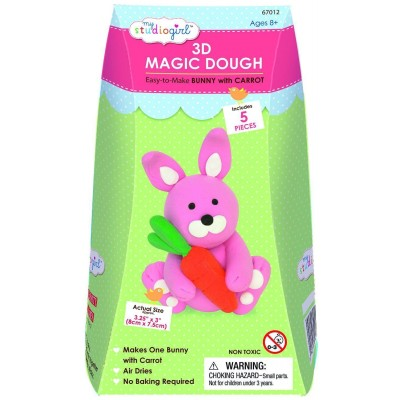 Magic dough bunny