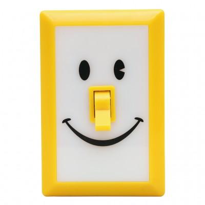 Linterna switch sonrisas amarilla